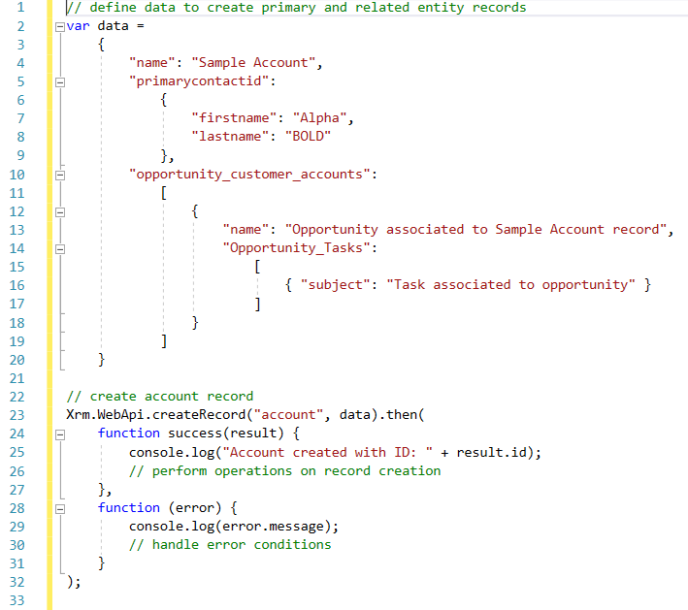 Dynamics CRM Related Entity Records