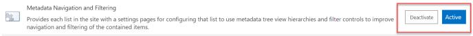 metadata Filtering