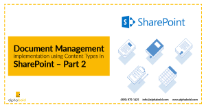 document management in sharepoint p2