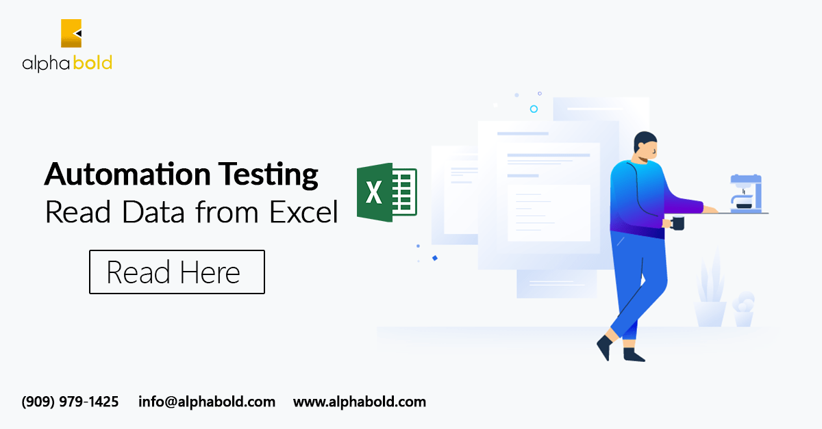 Automation testing Read Data from Excel