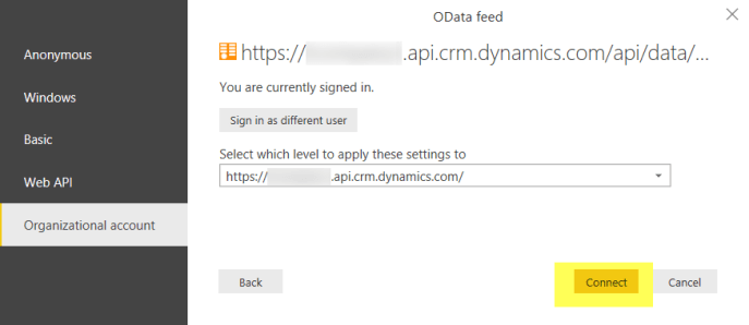 get Data from Dynamics 365 CRM