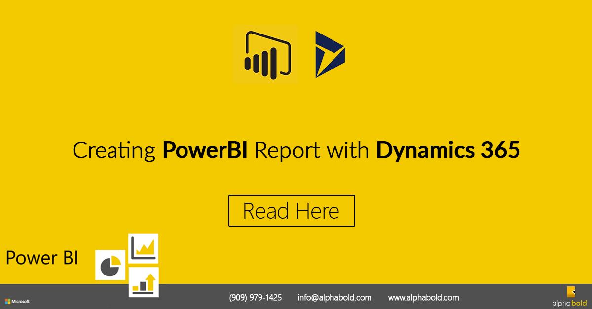 PowerBI Report Dynamics 365