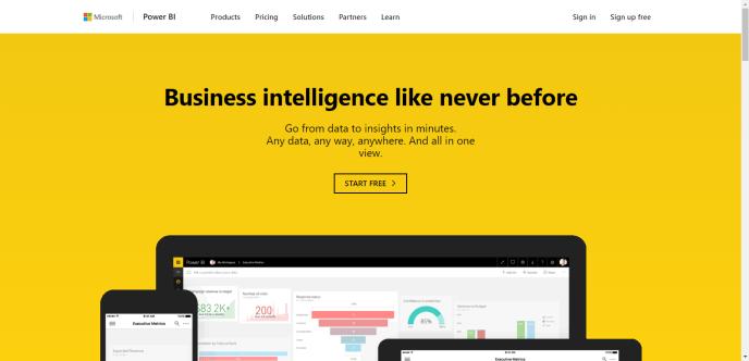PowerBI website