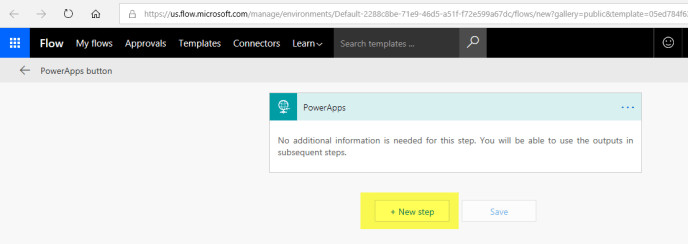 same credential PowerApps site