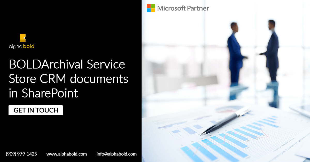 bold archival service sharepoint