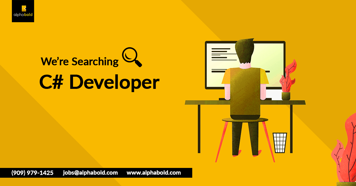 job c# developer