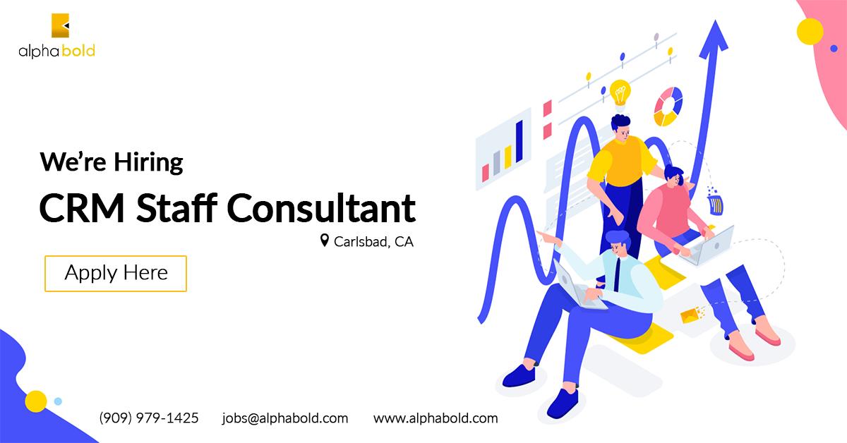job crm staff consultant