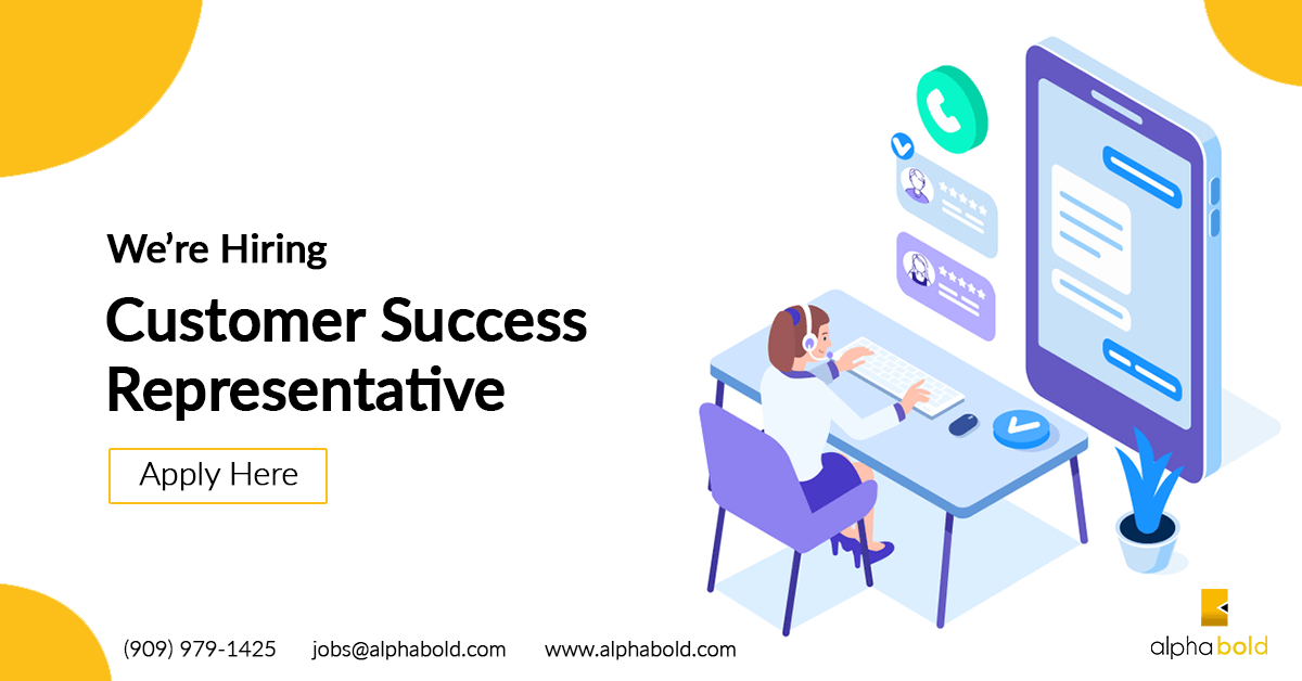 job customer success represntative