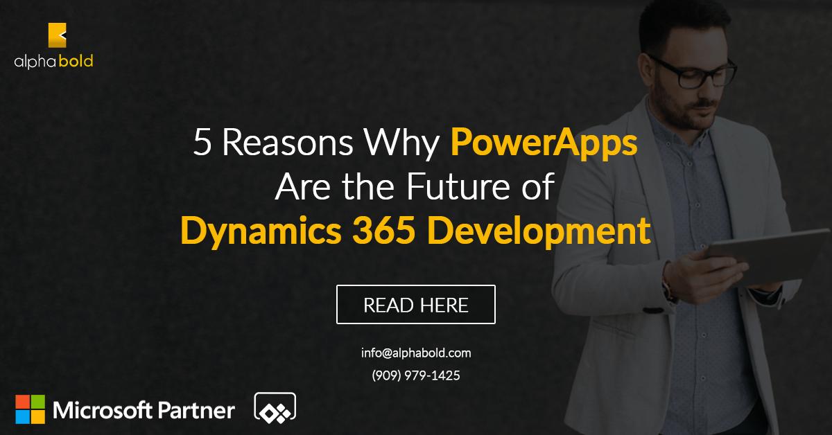 powerapps for dynamics 365 development