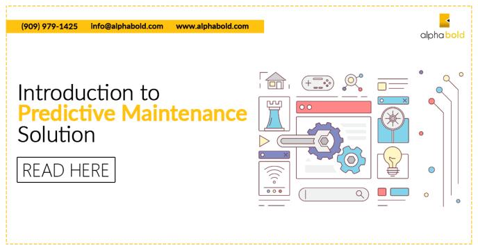 predictive maintenance solution