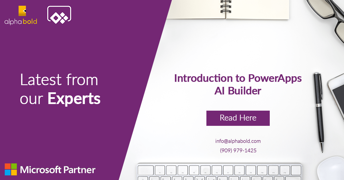 Microsoft powerapps ai builder