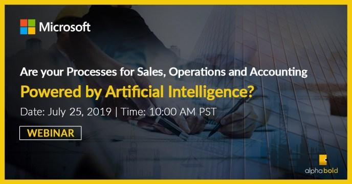 Process Automation Artificial Intelligence Webinar