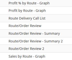 Route Management