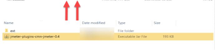 Plugin Jar files to JMeter 6