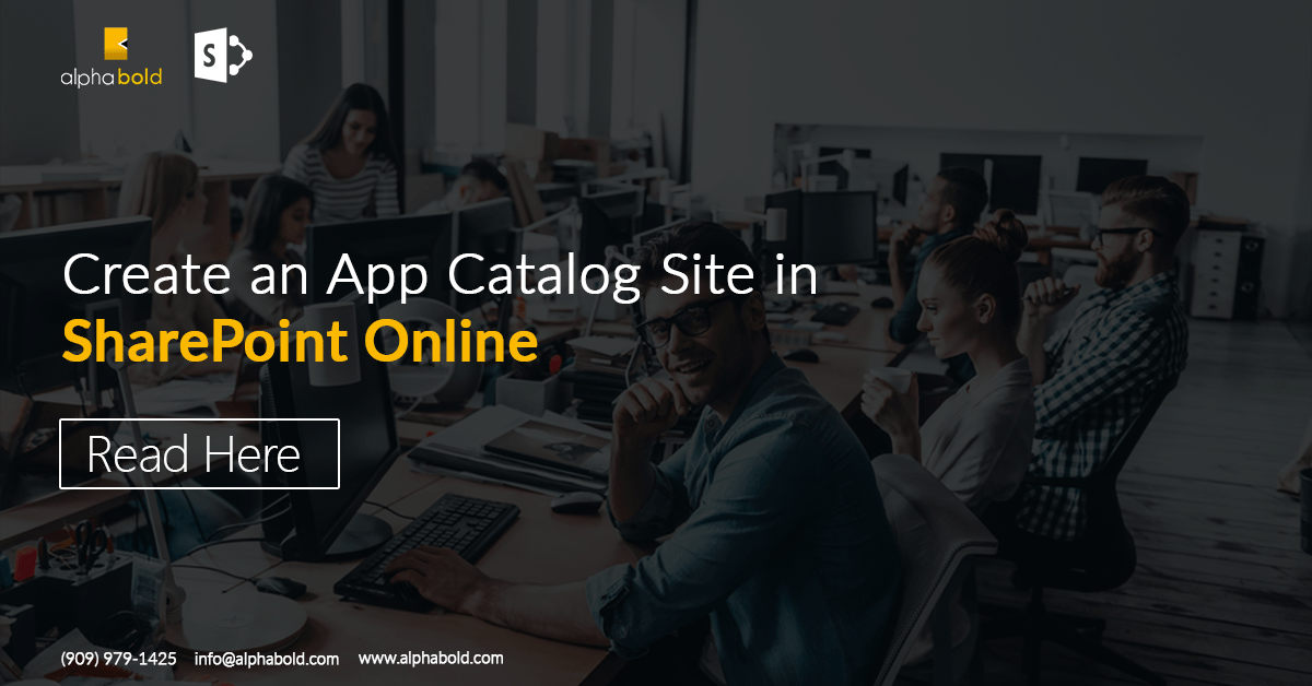 App Catalog in sharepoint