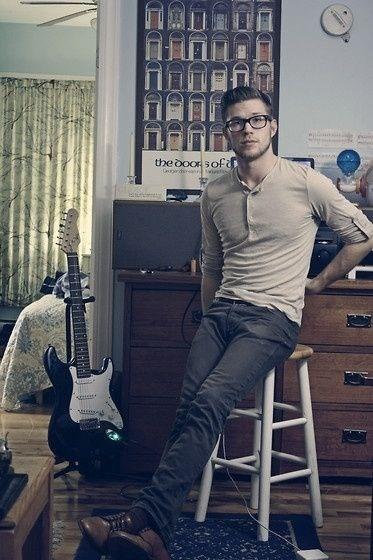 Sexy nerd guitar