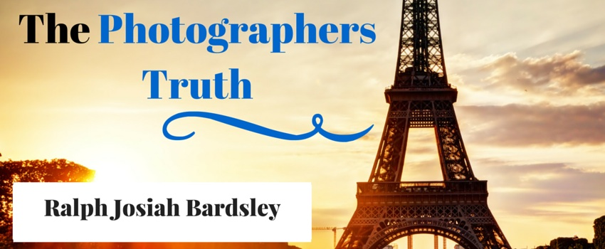The Photographers Truth Banner