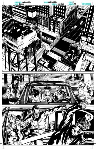 DC comics Batman Artist: Rod Rodollfo