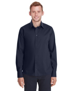 Devon & Jones Men's Crown Collection™ Stretch Broadcloth Untucked Shirt Promotional Apparel