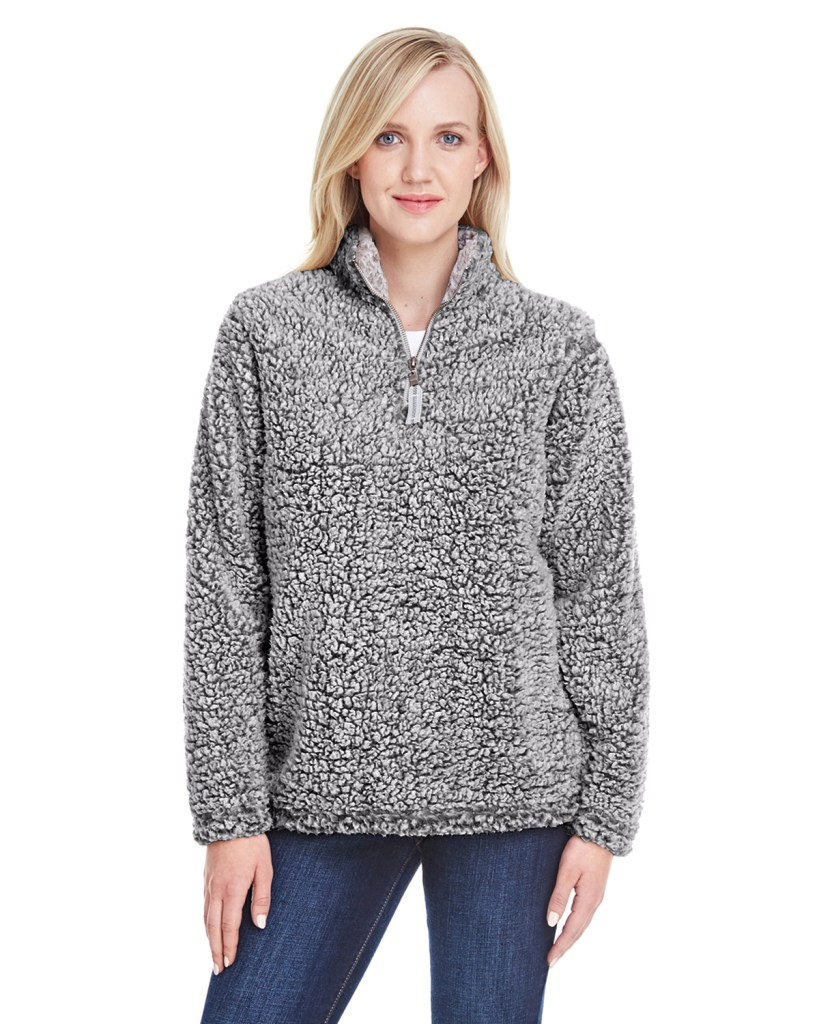 Promotional Apparel - J America Ladies' Epic Sherpa 1/4 Zip