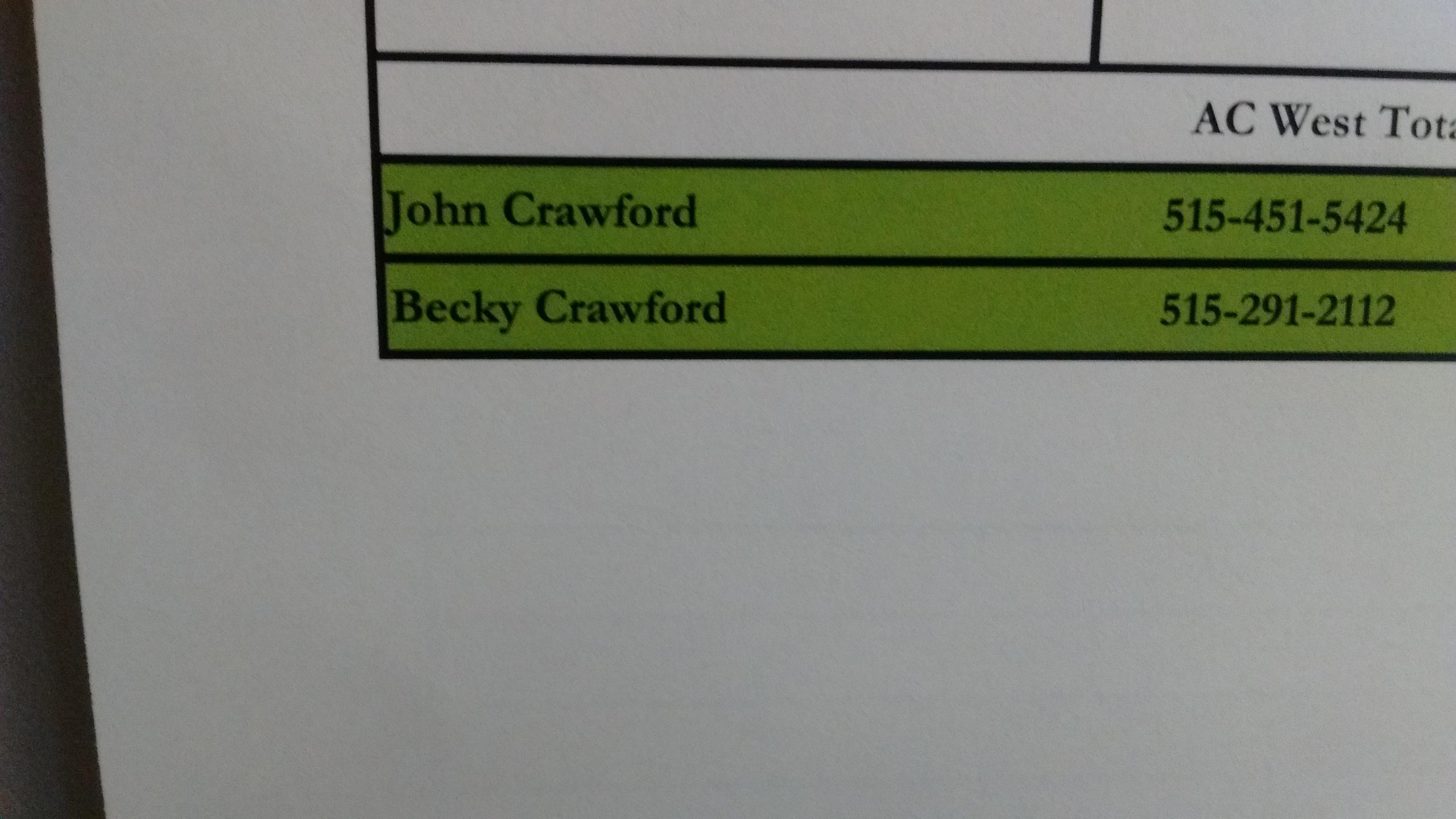 Becky Crawford