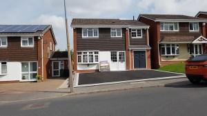 Oldbury - two storey side extension
