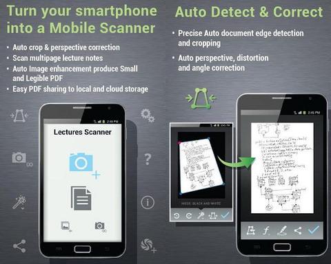 lectures scanner screenshot