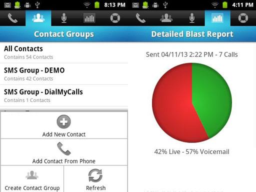 dialmycalls screenshot 2