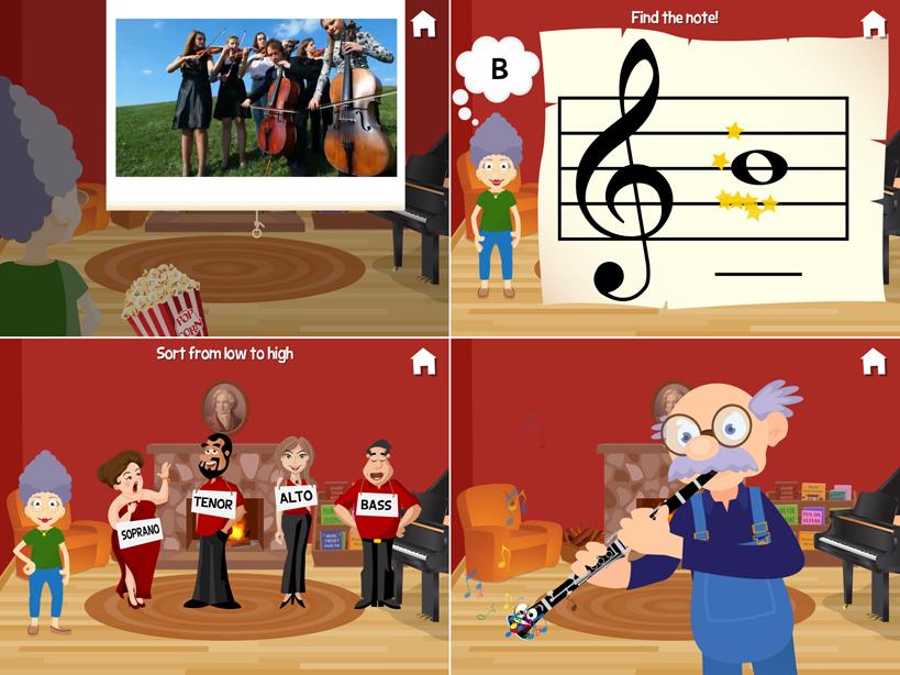 Music with Grandma screenshot