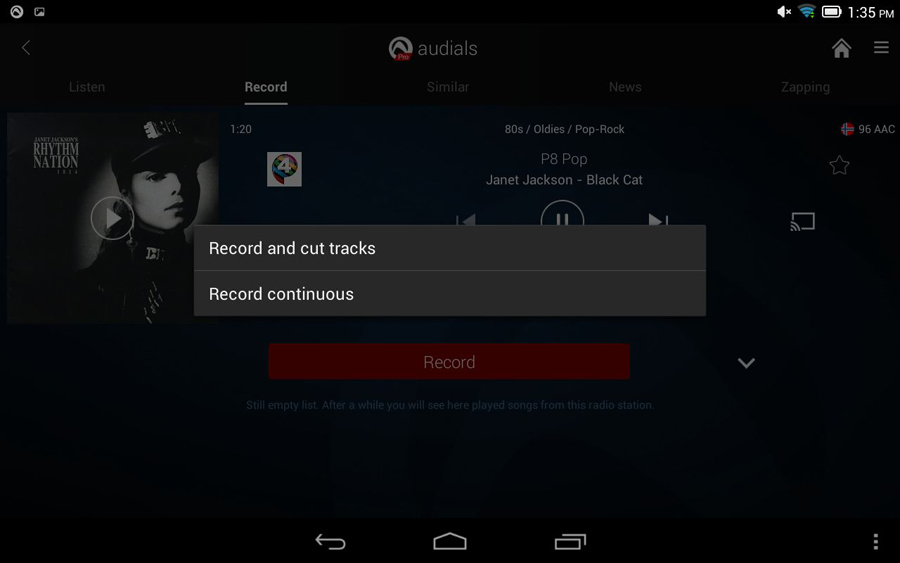 Audials app
