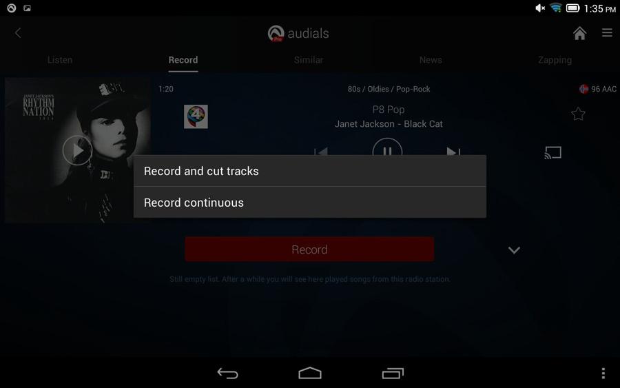 Audials Radio Player Recorder With Sleep Timer | AlphaDigits