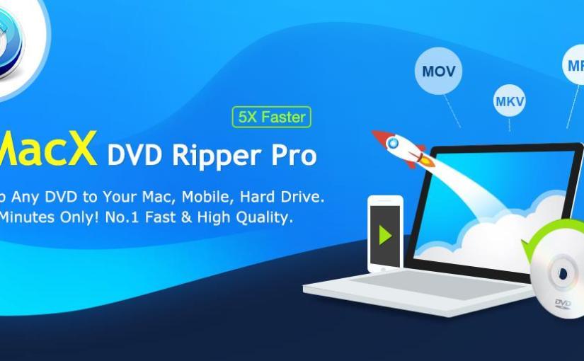 MacX DVD Ripper Pro - Fastest HandBrake Alternative to Rip Any DVD