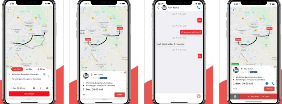 Carpooling App Sride Provides Options For Getting Around Town