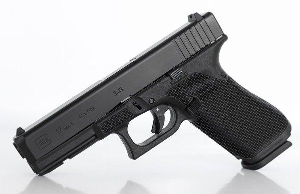 Glock Gen 4/5 Squares Laser Stippling