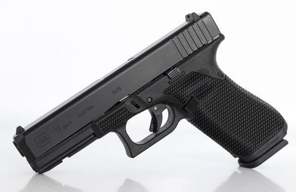"Glock ""Grator"" Laser Stippling"