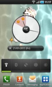 Google Calendar Widget on Android