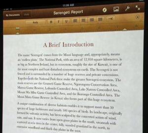iPad Pages Workflow
