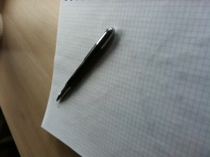 pen and paper productivity