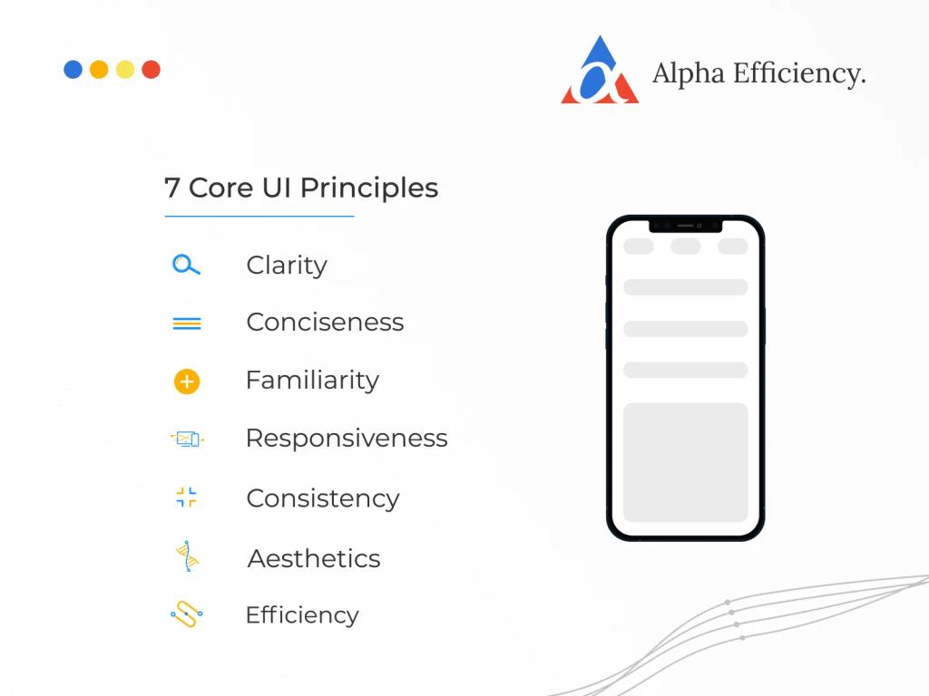 Designing UI for web apps
