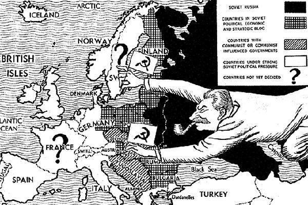 Cartoon War Cold 1940s Political