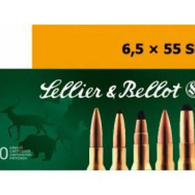 Sellier and Bellot 6.5X55SW 140 Grain Full Metal Jacket 20rds