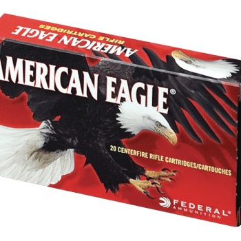 Federal American Eagle Brass .308 Win 150-Grain 20-Rounds FMJBT