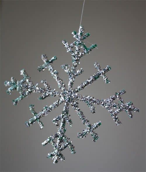 Glitter-Snowflake
