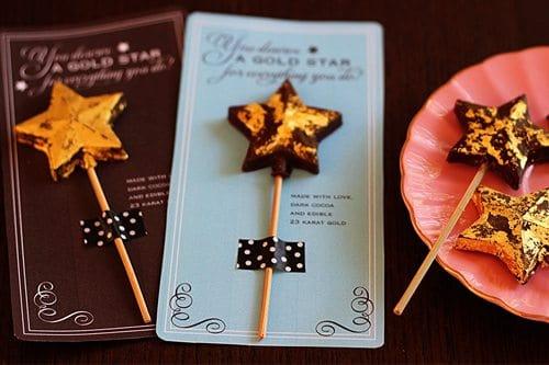 Chocolate Gold Stars For Teacher Appreciation Alpha Mom