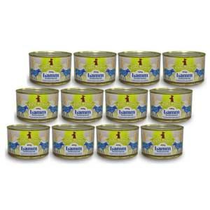 weide-lamm-senior-400g-12er-sparpaket-purinarmes-getreidefreies-glutenfreies-hundefutter-dose-muskelfleisch-schwarzwurzel-kartoffel-birne-hagebutte-papaya-alpha-natural