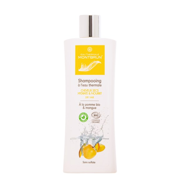 Organic treating shampoo for dry hair - Eau Thermale Montbrun