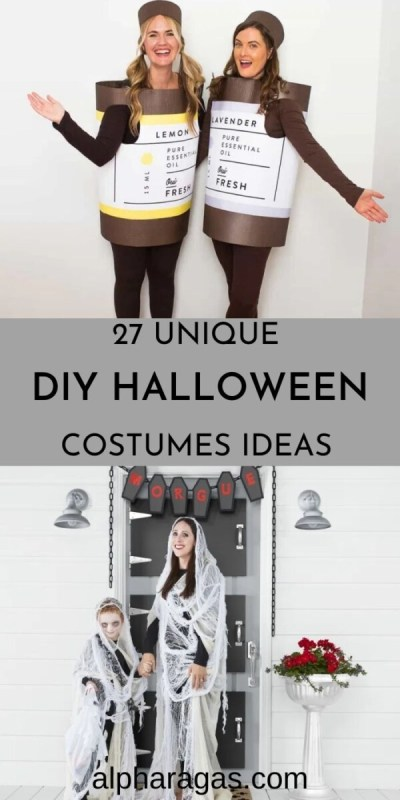 Get ready for 20 easy DIY Halloween Costumes Ideas