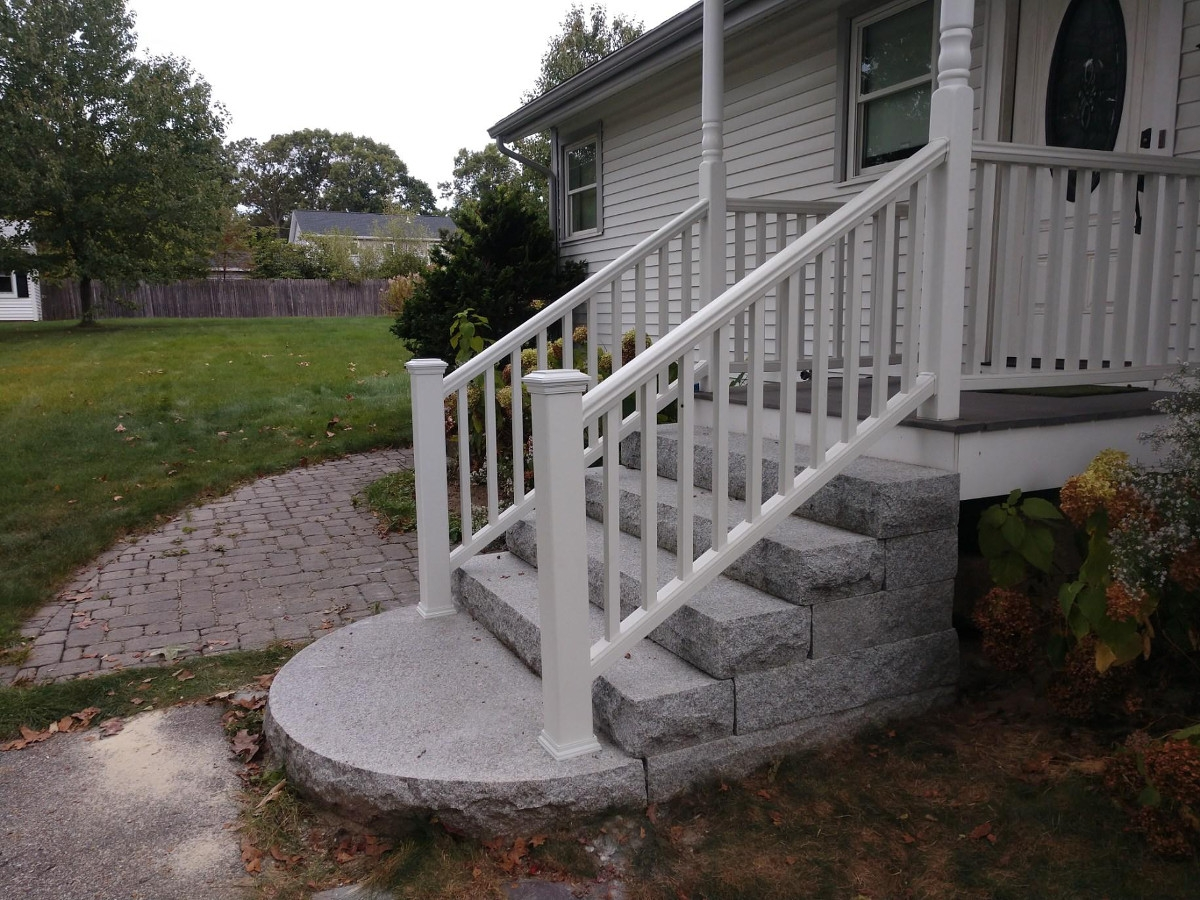 Home Remodeling Outdoor Railing Installation Railing For Steps | Outdoor Stair Railing Installers Near Me | Transitional Handrail | Cable Railing | Glass Railing | Porch Railing Kits | Vinyl Railing