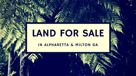 Land For Sale In Alpharetta And Milton