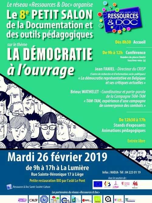 Petit Salon de la Documentation et des Outils Pédagogiques 2019